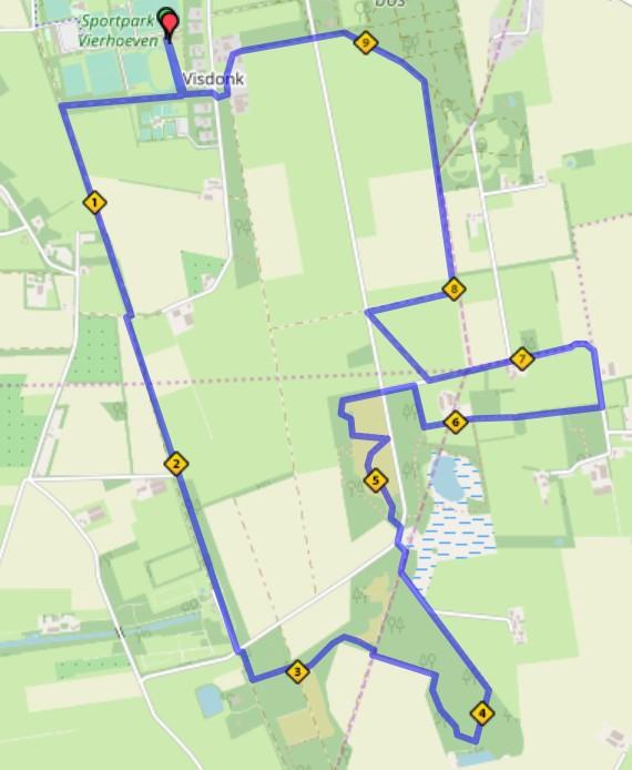 Trailrun Visdonk Roosendaal