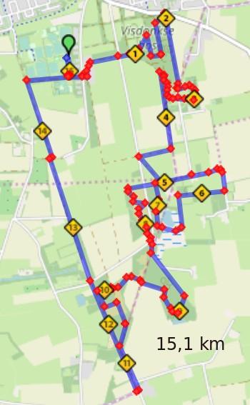Trailrun Landgoed Visdonk Roosendaal