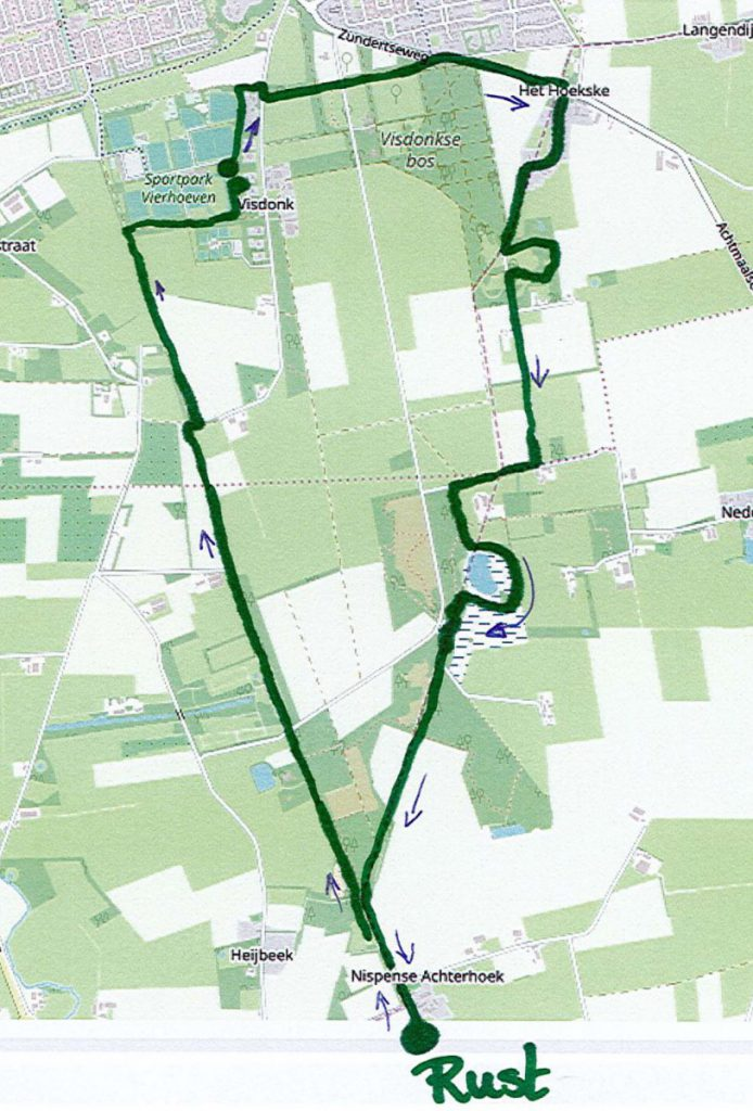 Wandeltocht 10 km landgoedloop